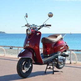 Scooter Oldies 50cc Bordeaux