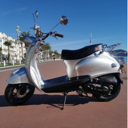 Scooter Oldies 50cc Gris