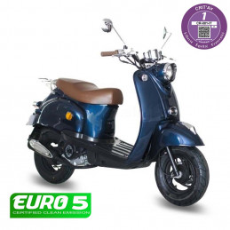 Scooter Oldies 50cc Bleu Nuit