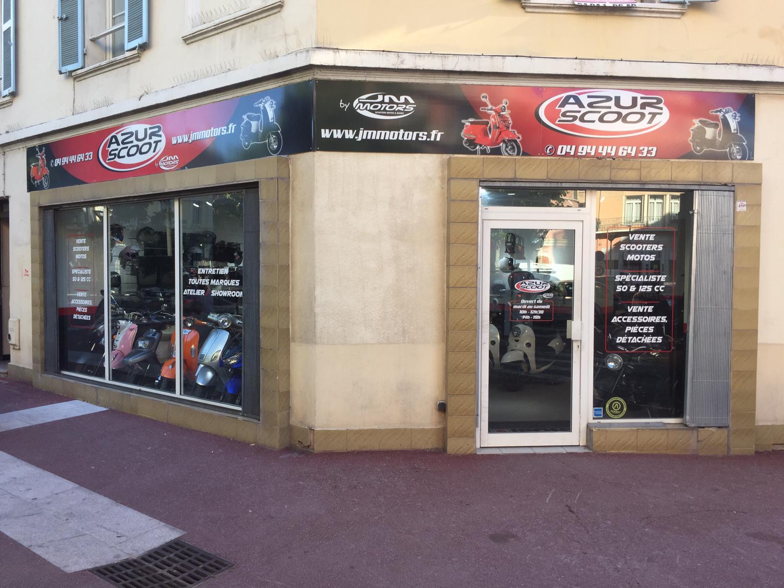 Boutique scooter et moto Saint Raphael (83)
