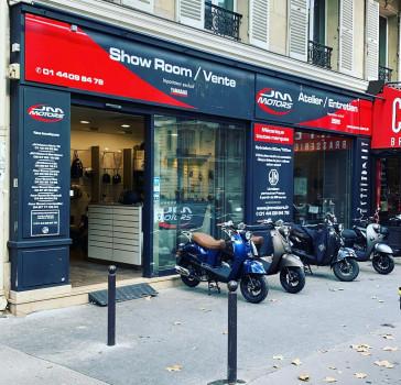 Boutique scooter et moto Paris 17e (75)