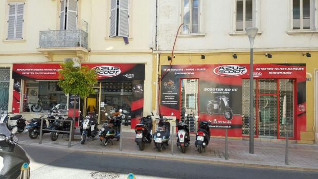 Boutique scooter et moto Cannes (06)